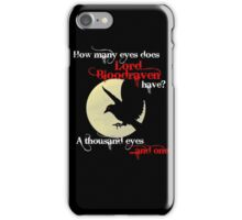 Bloodraven iPhone Case/Skin