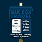 Blue Box Travel by Ironwings