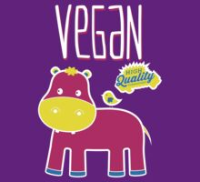 VEGAN KIDS HIPPO by rule30