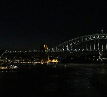 Sydney Icons at night. by Eon Entertainment