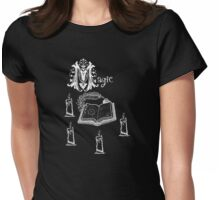 magic spell book of shadows Womens Fitted T-Shirt