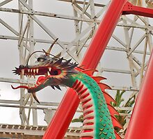 Dragon in St Kilda by kalaryder