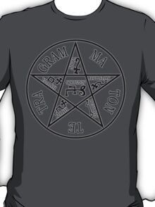 THE PENTAGRAM OF SOLOMON. T-Shirt