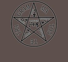 THE PENTAGRAM OF SOLOMON. Unisex T-Shirt
