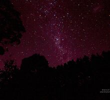 Australia Day night Sky. by Kristina K