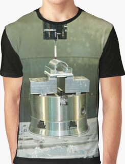 Metal tooling shop floor Graphic T-Shirt