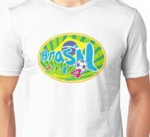 Brasil 2014 Soccer Football Ball Unisex T-Shirt