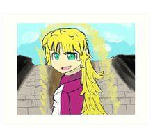 Ruri Gokou Super Saiyan Art Print
