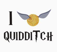 I Snitch Quidditch Kids Clothes