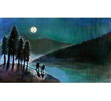 Moonlight Monsters II Photographic Print