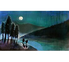 Moonlight Monsters II Photographic Print