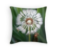 Dandelions to be Throw Pillow