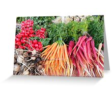 Taste the Harvest Greeting Card