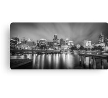 Beauty by Night on the Yarra River, Melbourne Canvas Print