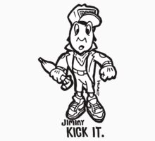 Jiminy Kick It by sketchNkustom