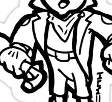 Jiminy Kick It Sticker