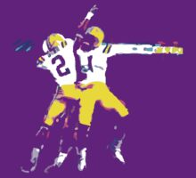 LSU Football Tee by Ross Campbell