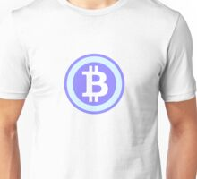 Bitcoin Blue Unisex T-Shirt
