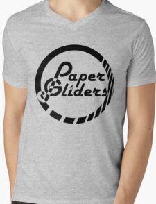 Paper Gliders (Black Design #2) Mens V-Neck T-Shirt