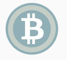 Bitcoin Blue Lite by CryptoCoinTees