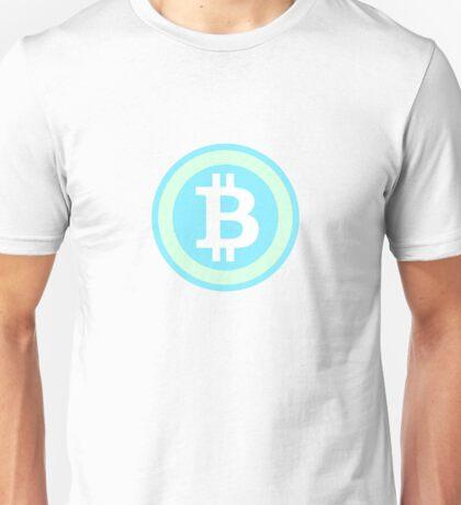 Bitcoin Blue Lite Unisex T-Shirt