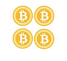 Bitcoin 4some Photographic Print