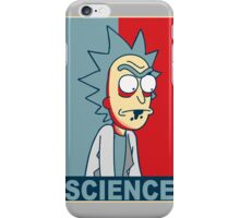 RICK AND MORTY - SCIENCE v2 iPhone Case/Skin