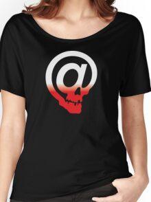 @ Skull Women's Relaxed Fit T-Shirt
