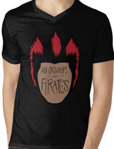 All Grown-Ups  Mens V-Neck T-Shirt