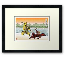 Battle of the Trident Framed Print