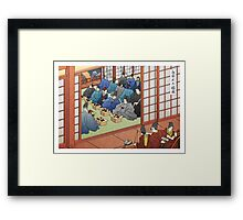 Wedding Banquet by the River Framed Print