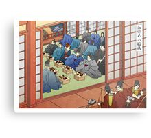 Wedding Banquet by the River Metal Print