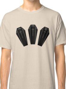 Minimalistic dies, died, will die. Classic T-Shirt