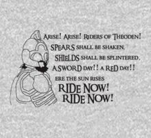 Arise riders of Théoden! One Piece - Short Sleeve