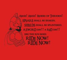Arise riders of Théoden! Kids Clothes