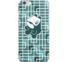 Cube Animals: The bear iPhone Case/Skin