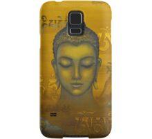 Buddha. The message Samsung Galaxy Case/Skin