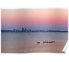 Swan River Perth Western Australia  Poster