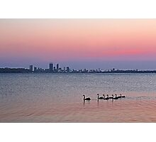 Swan River Perth Western Australia  Photographic Print