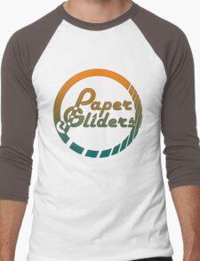 Paper Gliders (Color Design) Men's Baseball ¾ T-Shirt