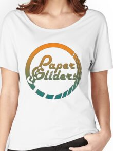 Paper Gliders (Color Design) Women's Relaxed Fit T-Shirt