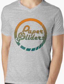 Paper Gliders (Color Design) Mens V-Neck T-Shirt