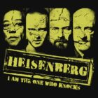 Heisenberg and the crew by Nikki Toong