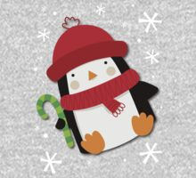 Holiday Penguin One Piece - Long Sleeve