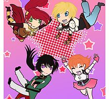 Chibi Team JNPR by tofudelight