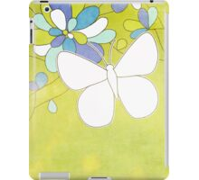 The green grass and the happy skies iPad Case/Skin