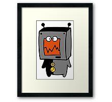 DigiDoodles: TV Tine Framed Print