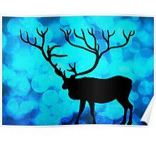 Oh Deer!!! BOKEH!! Poster