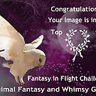 Animal Fantasy and Whimsy Runner Up Banner by Vicki Childs