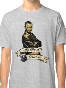Doctor Who - My first Doctor (Who) Ninth 9th Christopher Eccleston Classic T-Shirt